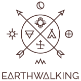 Earthwalking Logo