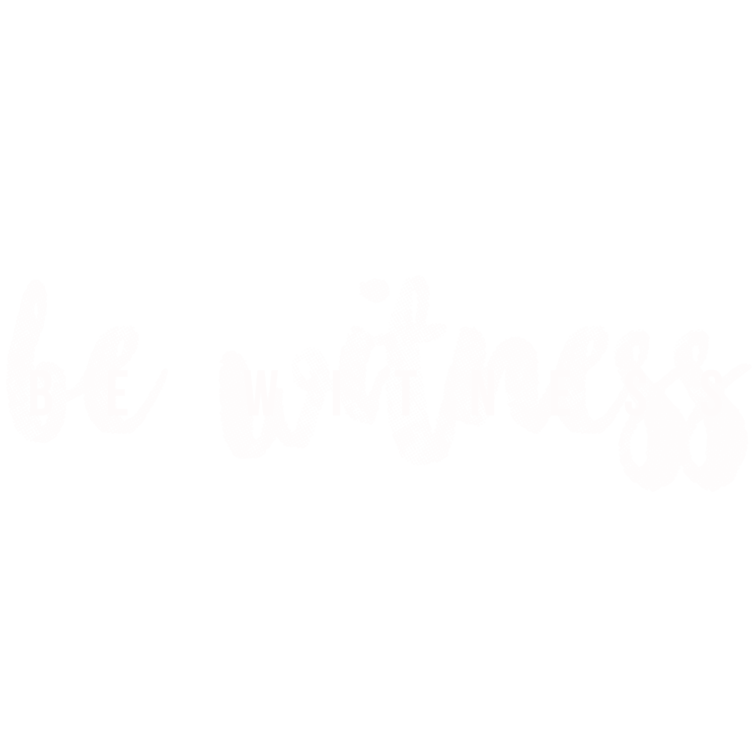 Be Witness | Accueil