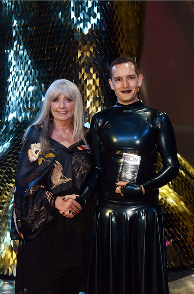 Suzie Moncrieff and Adam McAlavey.  Photo Credit: World of WearableArt Ltd