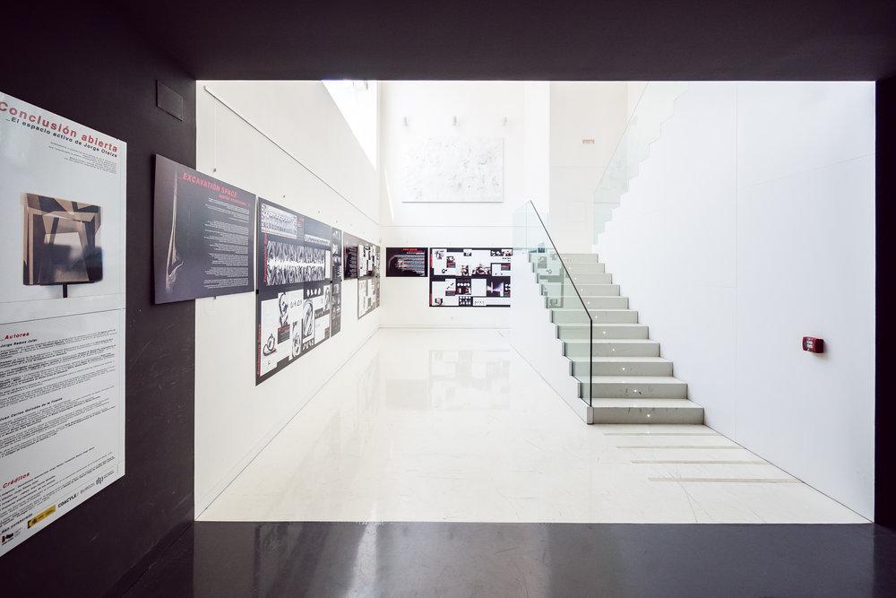 06.2016 - 09.2016    Colegio Oficial de Arquitectos de Burgos - COABU   Fotografías J. C. Quindós