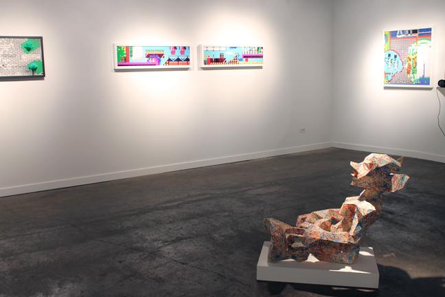 Installation view at Packer Schopf Gallery (Chicago, IL).