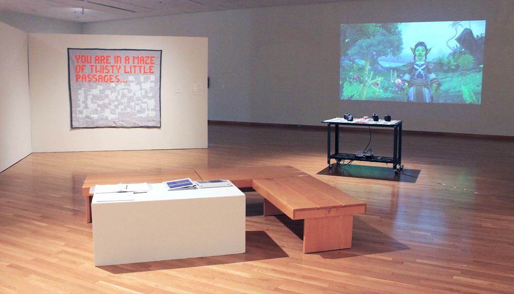Installation view, Screen Between