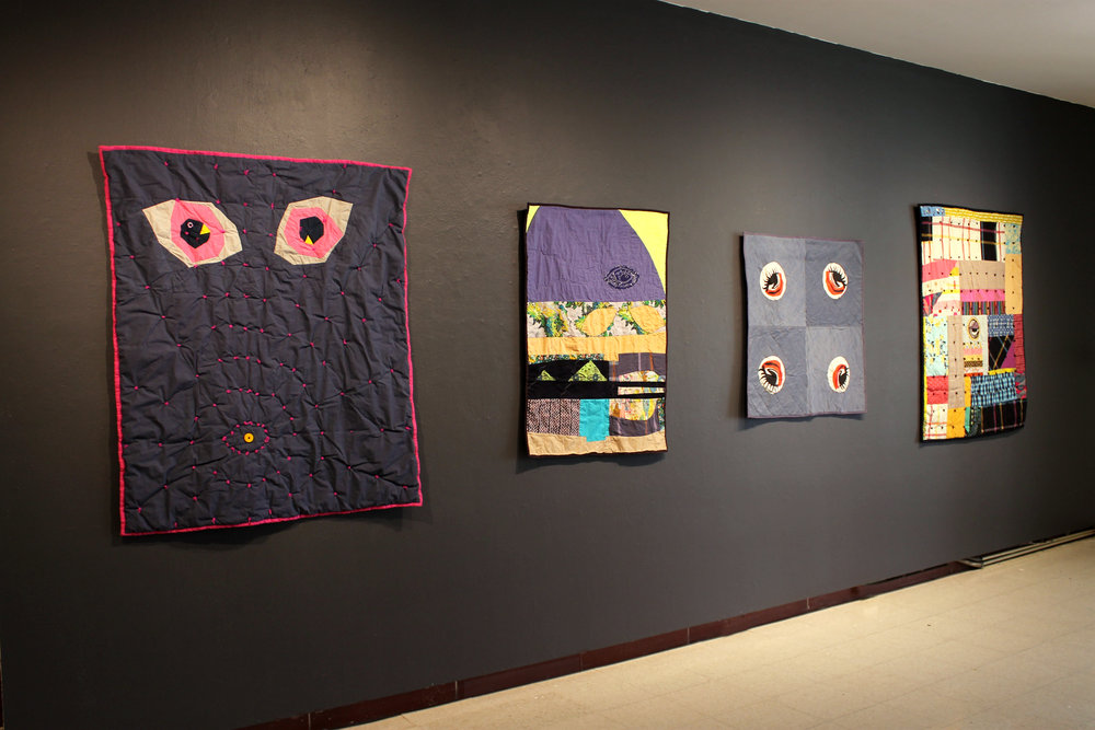 Installation view, I WANT TO BELIEVE, Moreau Art Galleries (Saint Mary's College, Notre Dame, IN). 2017
