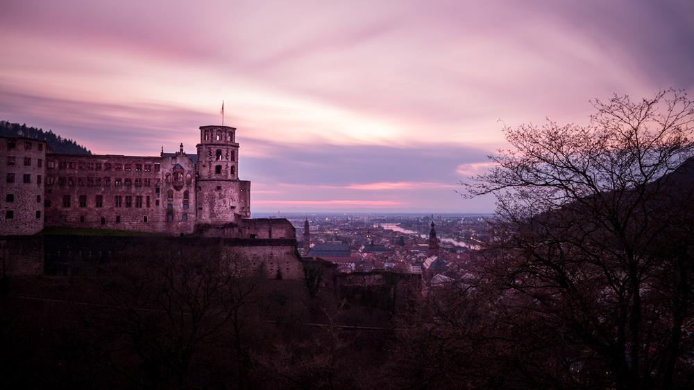 Purpurnes Heidelberg