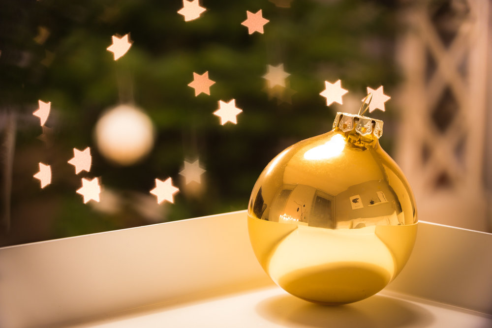 Weihnachtliches Sternenbokeh mit dem Tamron 90mm F/2.8