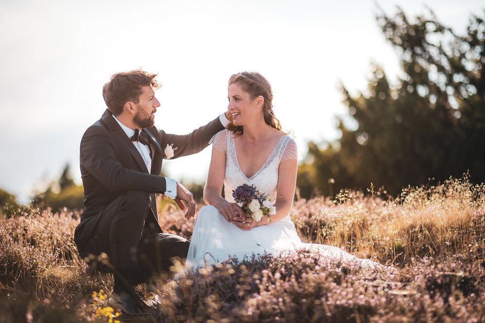Hochzeit in der Lüneburger Heide - Lisa und Alex - Stimbekhof
