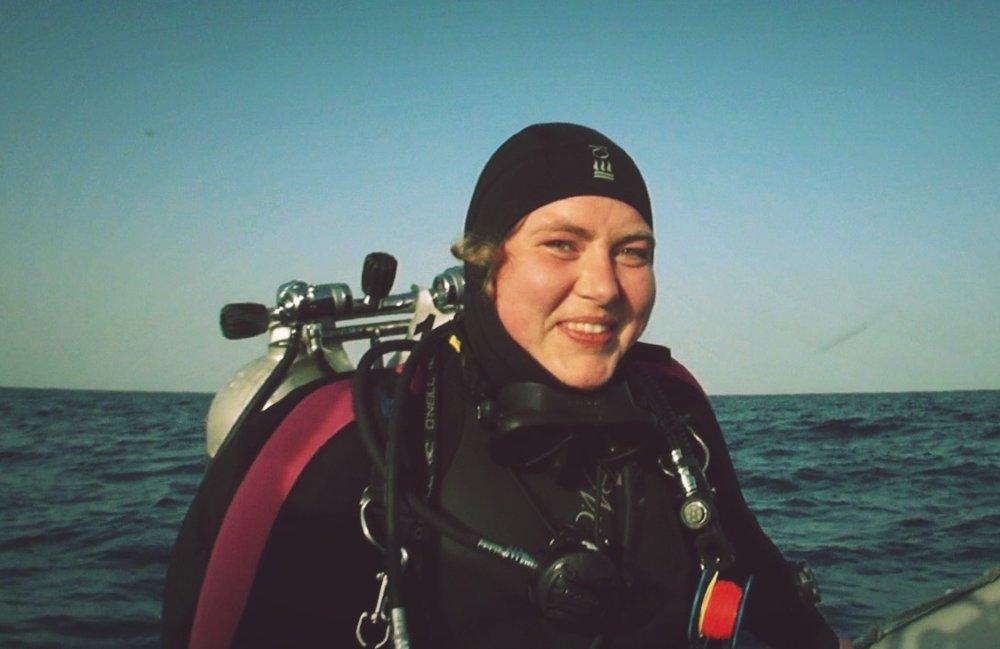 Off Diving, Egypt 2015. (Photo taken by Soeren Johanson)