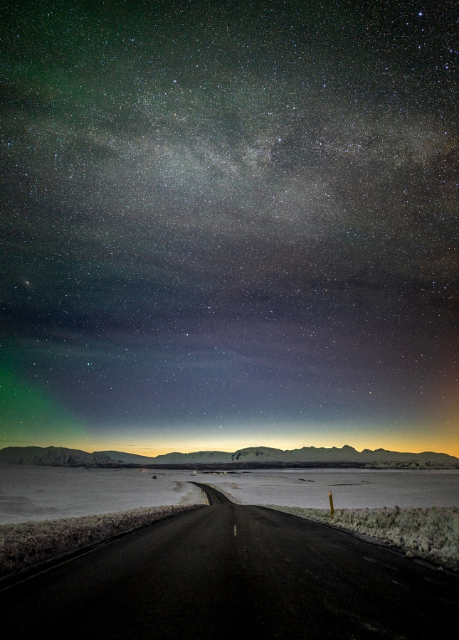 Road to Milky Way