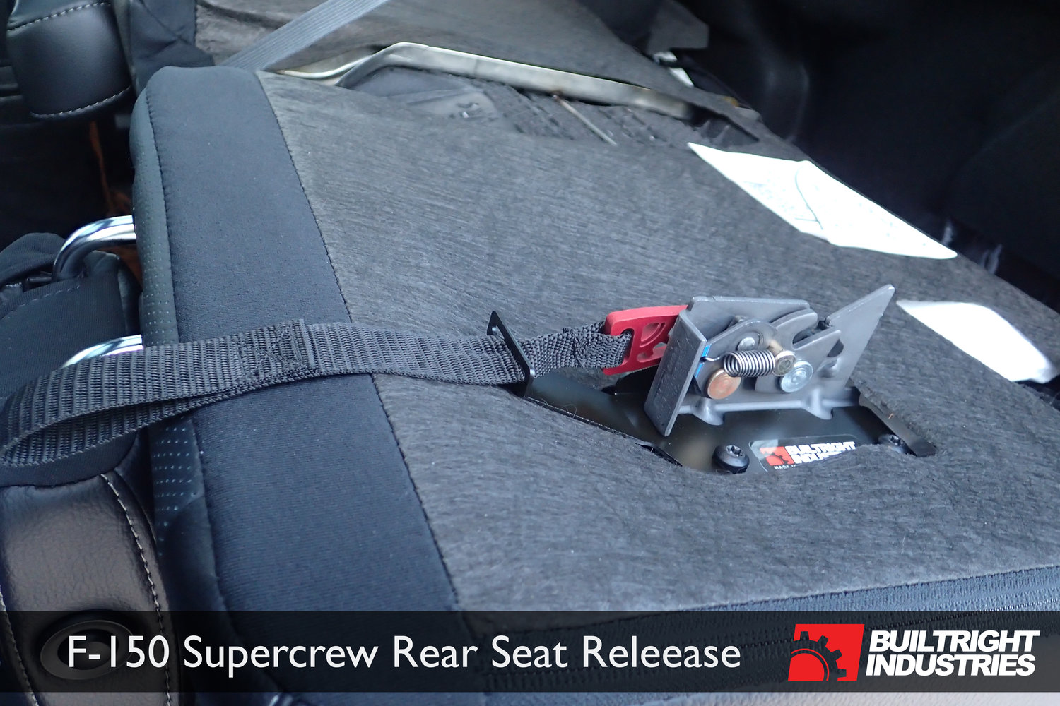 2009 2017 Ford F 150 Rear Seat Back Release Builtright Industries