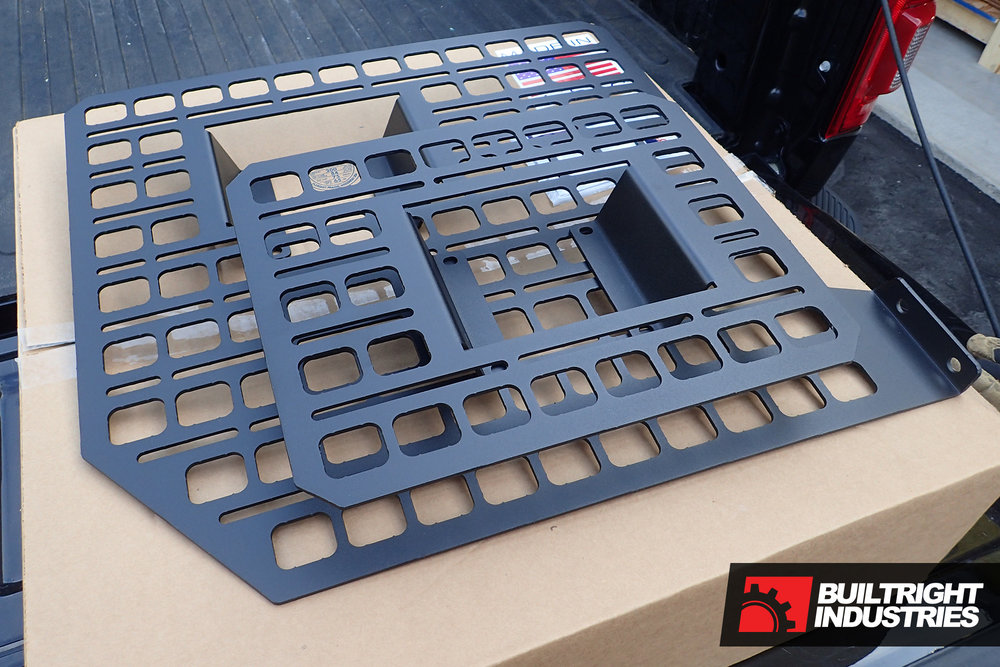 builtright industries bedside rack installation f-150 unboxing