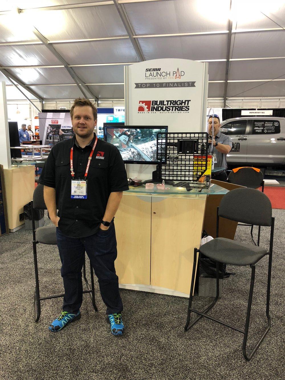 2018 SEMA Launch Pad Winner Matt Beenen