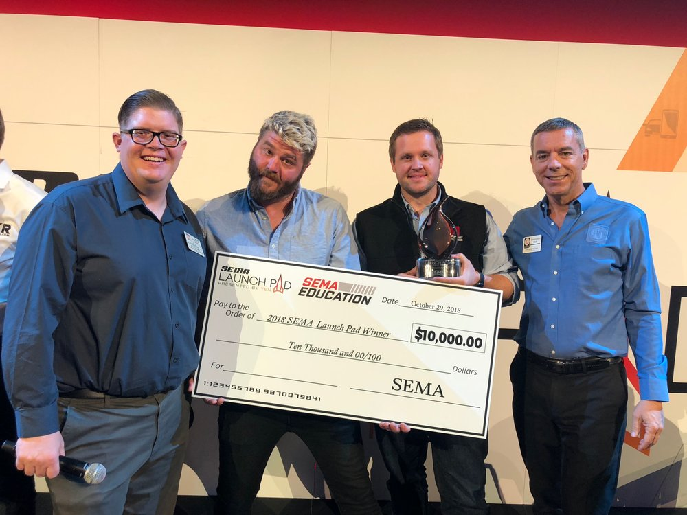 2018 SEMA Launch Pad Winner Matt Beenen