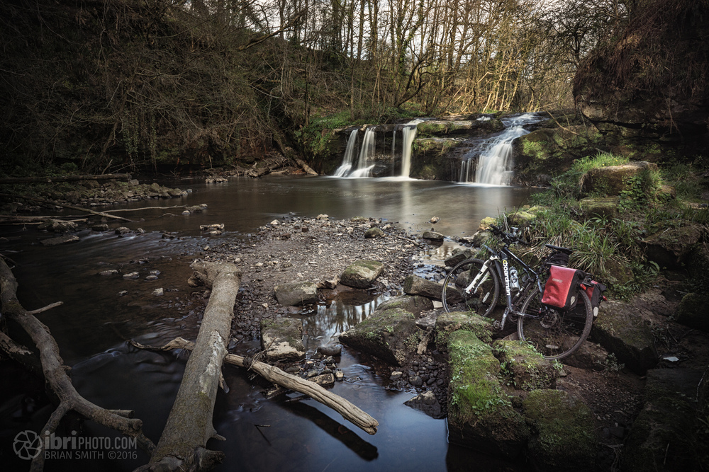 Linn Mill Falls, on the Black Devon. Great head clearing spot, if you ignore the discarded boxers lying around.