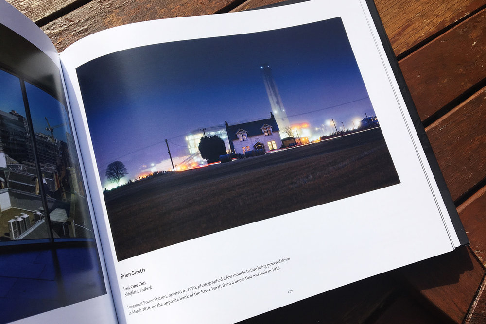 Looks good in the big hefty Collection book, alongside some magnificent photographs from all over Scotland.