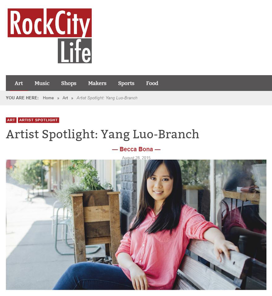 Article by Rock City Life, August 2015