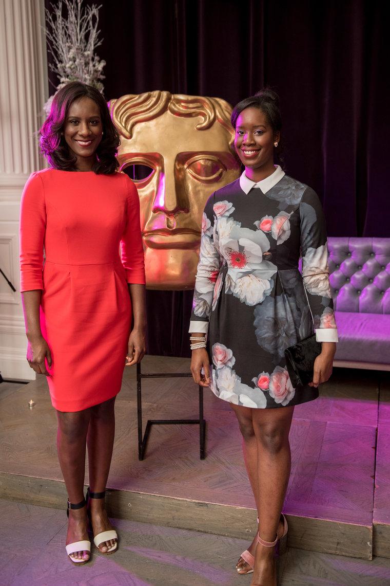 (L-R) Moyo Akande & Morayo Akande