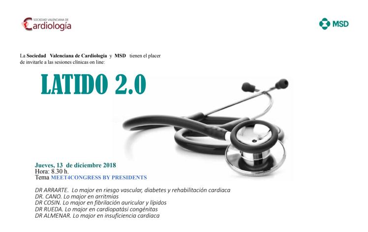 MEET4CONGRESS BT PRESIDENTS: resumen del 2018 por los presidentes de las secciones secardiologia y el presidente de svc