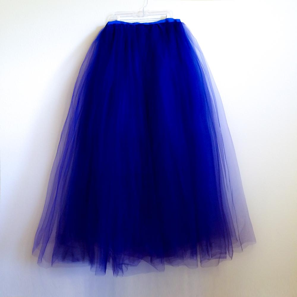 Skirt - Royal Blue Tulle