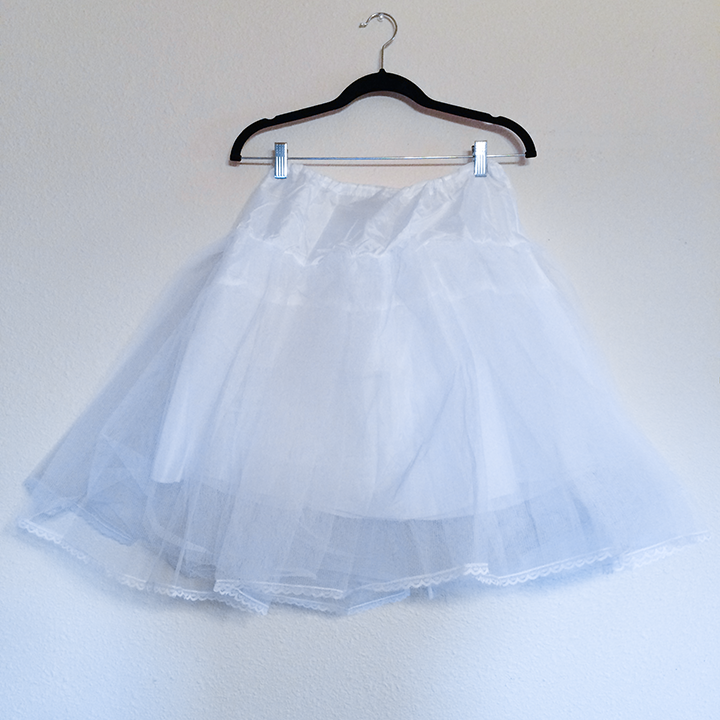 Skirt - White Petticoat