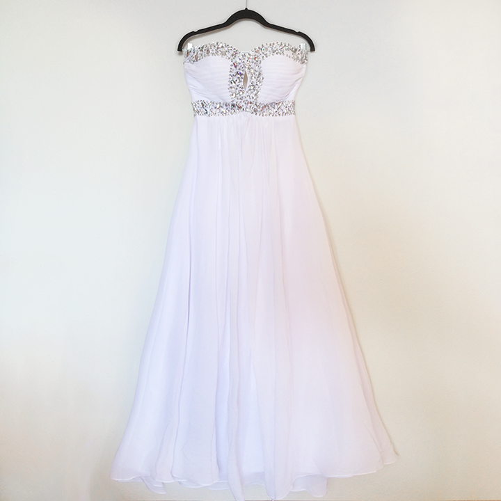Dress - White Chiffon