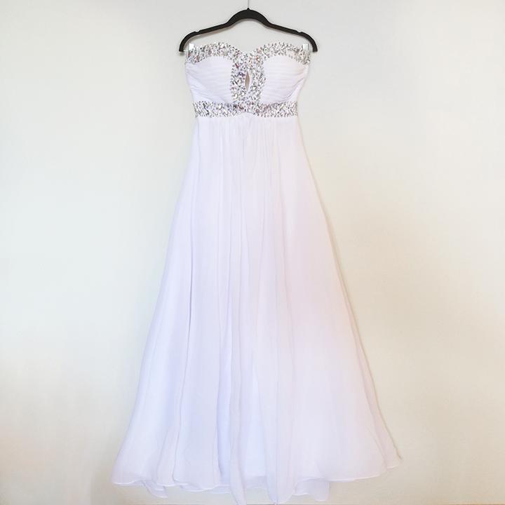 Dress - White Chiffon