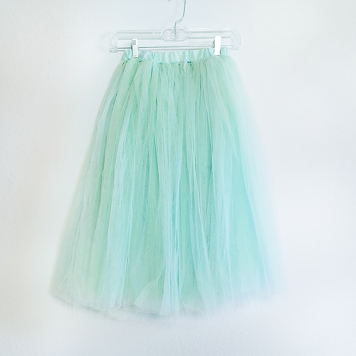 Skirt - Mint Tulle