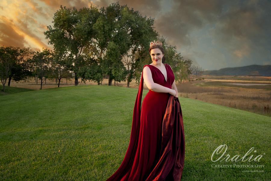 Pre-Rafaelite Photo Shoot by Oralia Creative Photography in Silicon Valley | Model: Stephanie Swanbeck | Photographer: Amanda Quintana-Bowles
