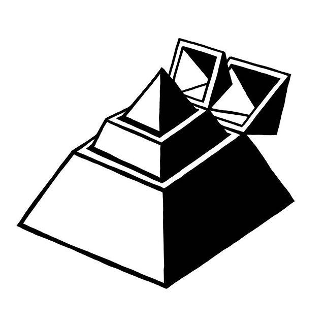 Global power structures explained #illuminati #davidicke #pyramid #nwo #illustration #art #lineart #instaart #blackandwhite #simpletattoo #stupid #dumb #funny