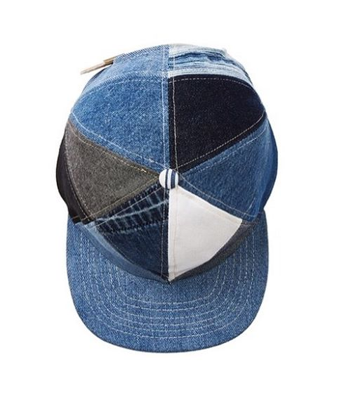 Online store is officially up!! Find us at ALBUMQUILTS.US Here's our Patchwork Denim ball cap, made from repurposed denim. Each cap is unique, and no two are alike.  #albumquilts #vintagedenim #nevernotmaking