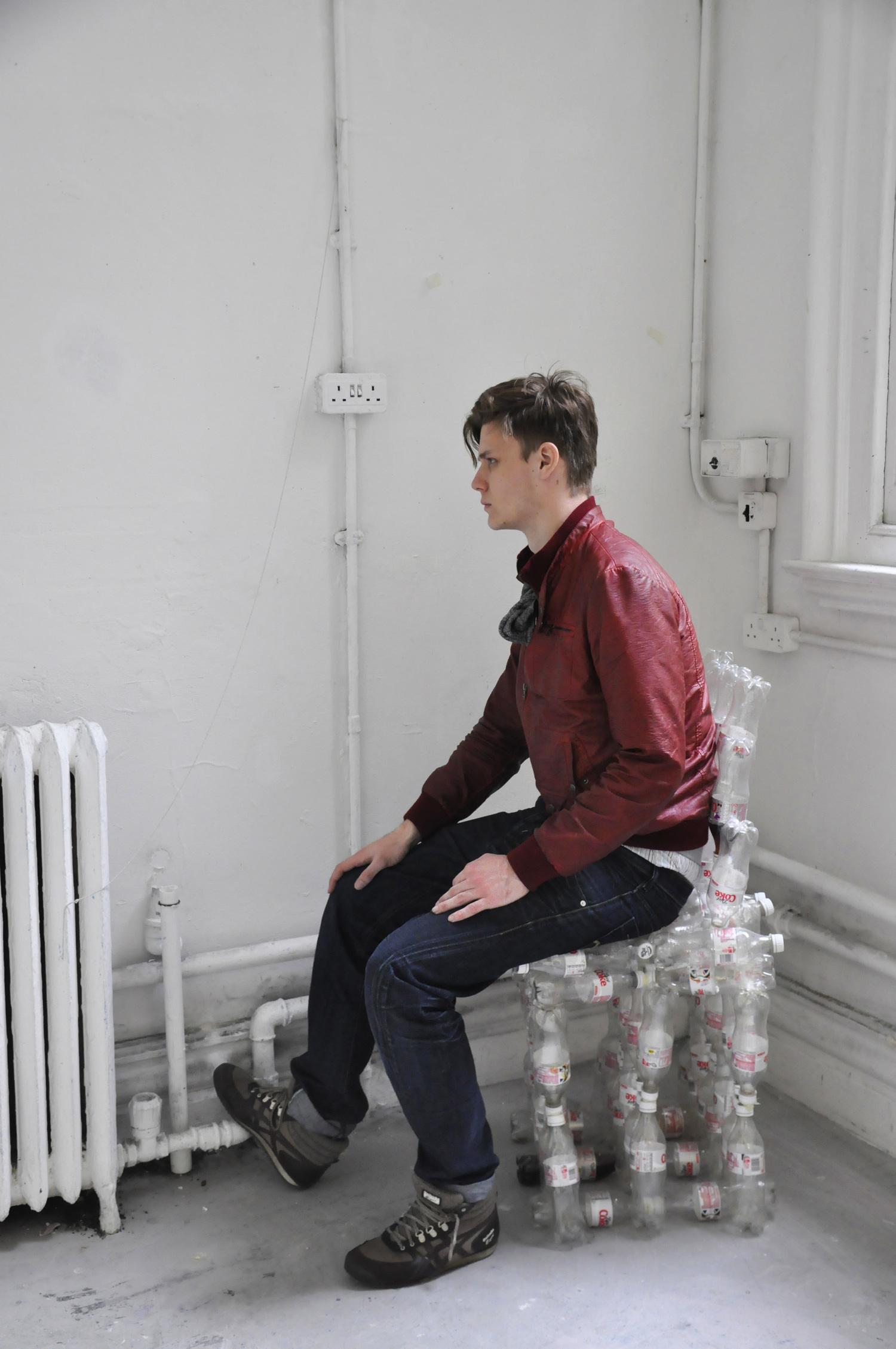 diet coke bottle chair mckenzie gibson