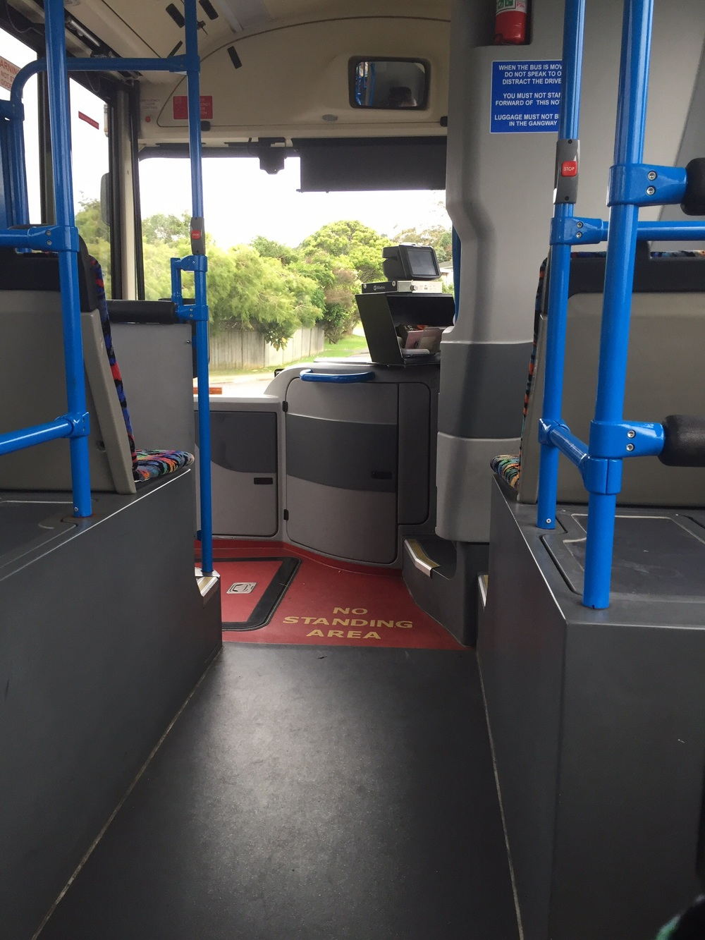 Taking the Bus to Auckland city