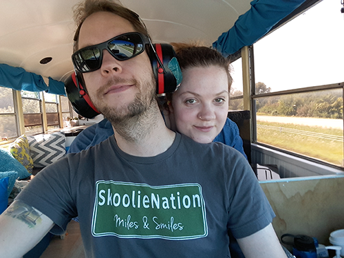mary and I driving skoolielove.png