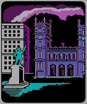 Montreal, as pictured in  Where in the World Is Carmen Sandiego , circa 1985.