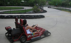 Go-Karts are $8 for each driver!