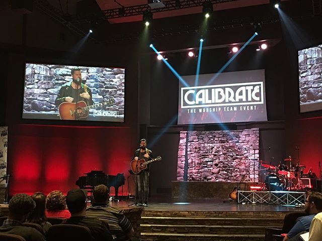 Zach Williams @ Calibrate Worship