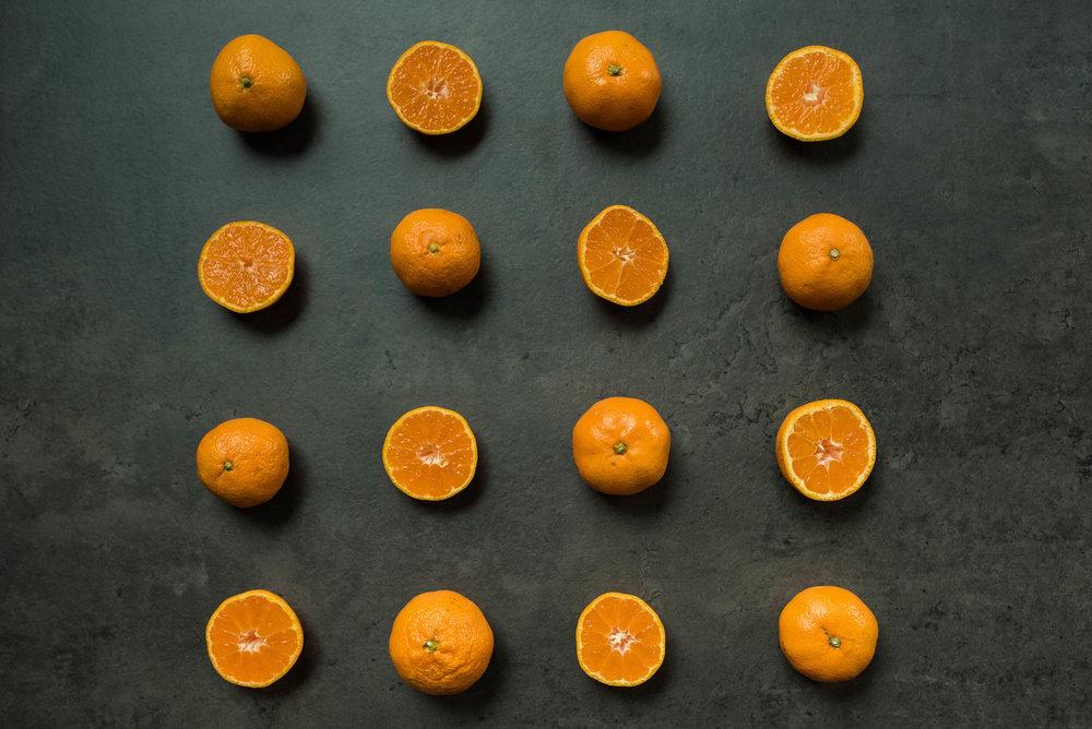 Mandarin Oranges by Jennifer Russell