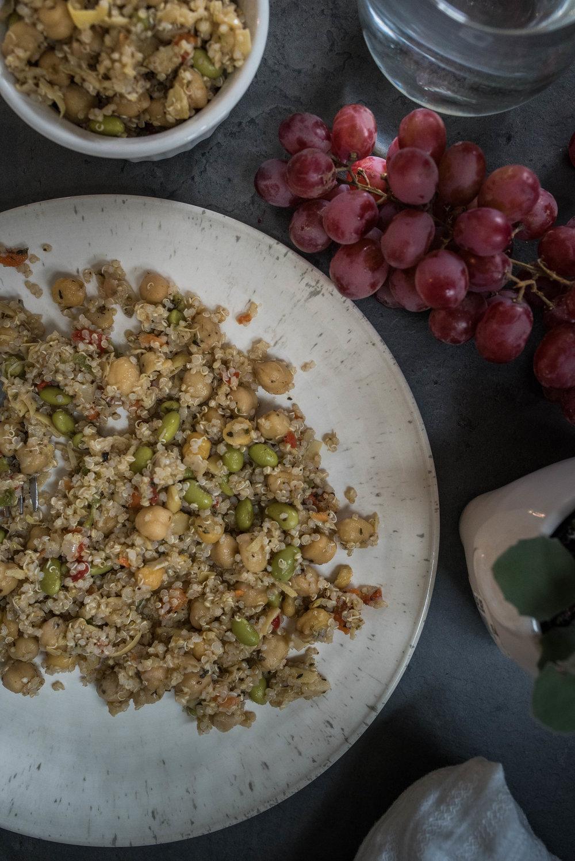 Italian Chickpea Quinoa by Jennifer Russell