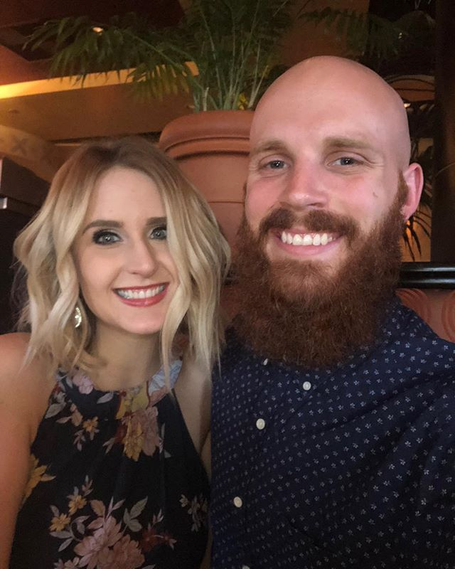 Celebrating five years of marriage with this gem. Thanks for putting up with us (me and my beard). Love you!