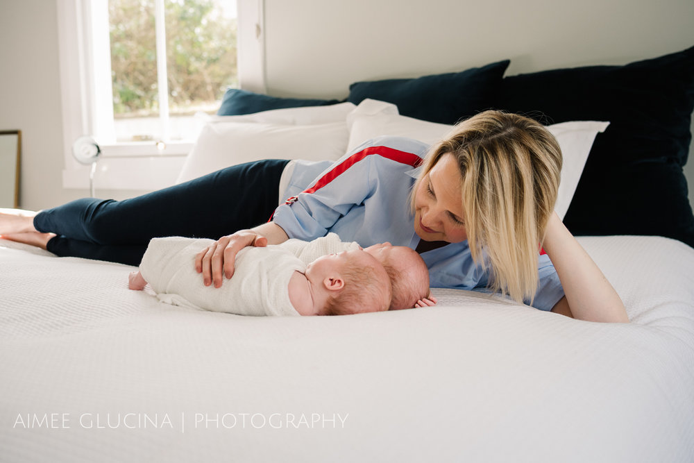 Twin Newborn Baby Photo Session by Aimee Glucina Photography-9.jpg