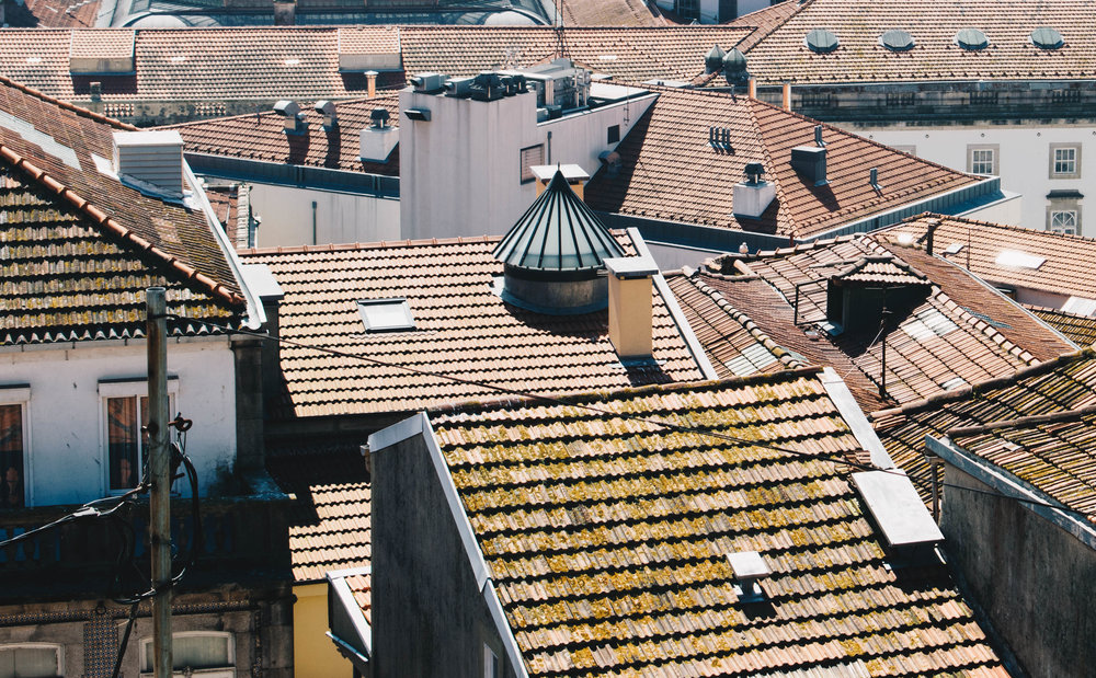 Porto-Portugal-Rooftops-Brown-Leather-Book