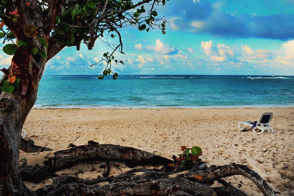 Beach view Cuba