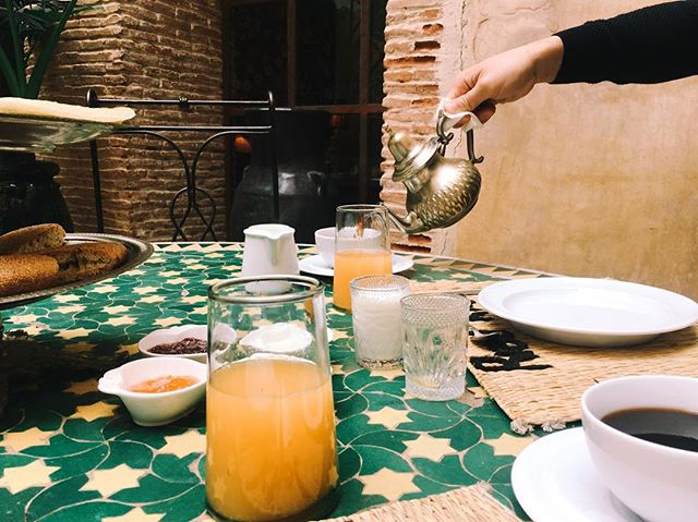 Morocco is a place where each meal is homemade. More than 90% of the food is sourced from smaller family run agriculture. You can actually taste the different aromas of a lemon.