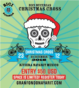 Bici Bucerias christmas cross | december 23 2018