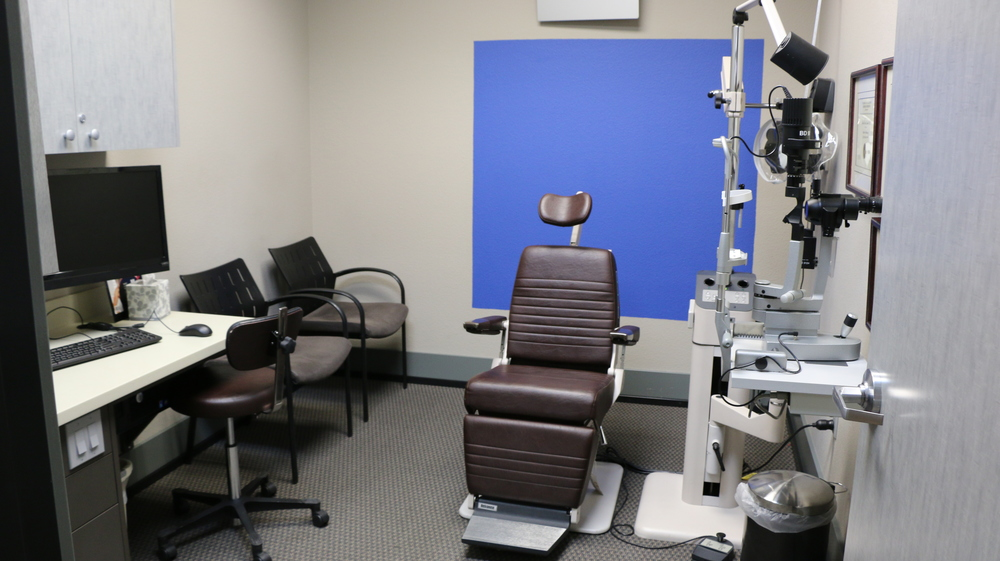 Consultation/exam room, of which we have several.