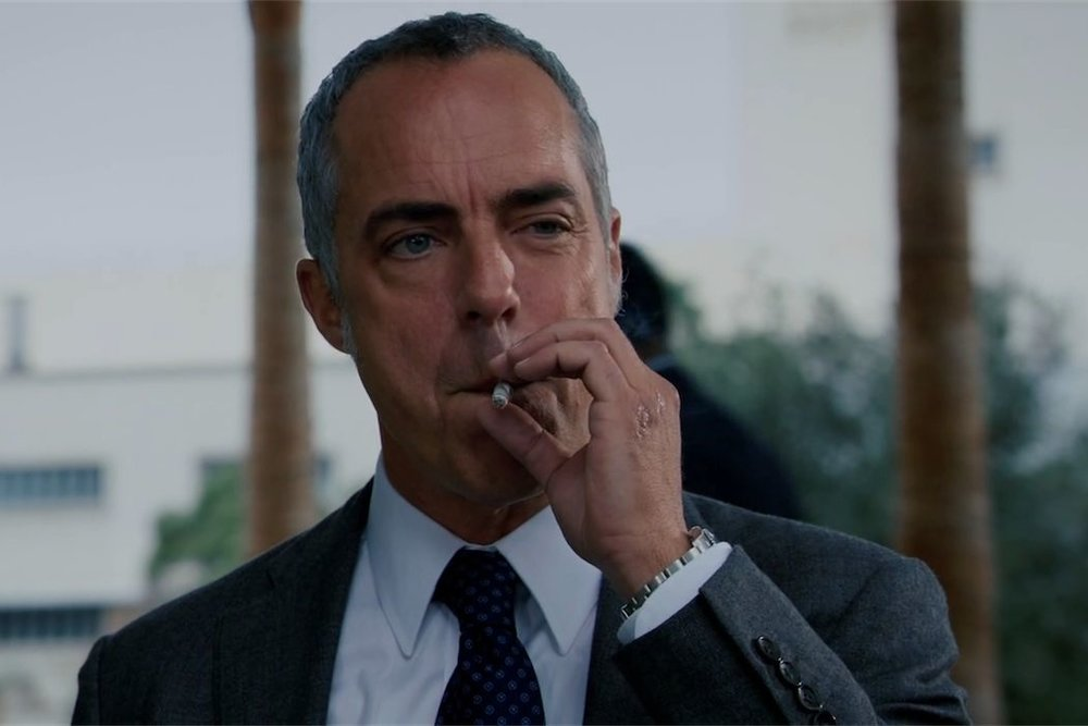 "Titus Welliver interpreta il Detective Harry Bosch creato da Michael Connelly nel 1992 nella serie TV ""Bosch"""