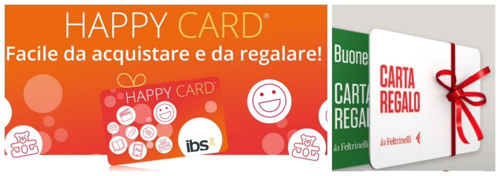 Carte Regalo di Feltrinelli e IBS