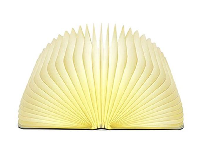 Lixada Libro Lampada Luce LED