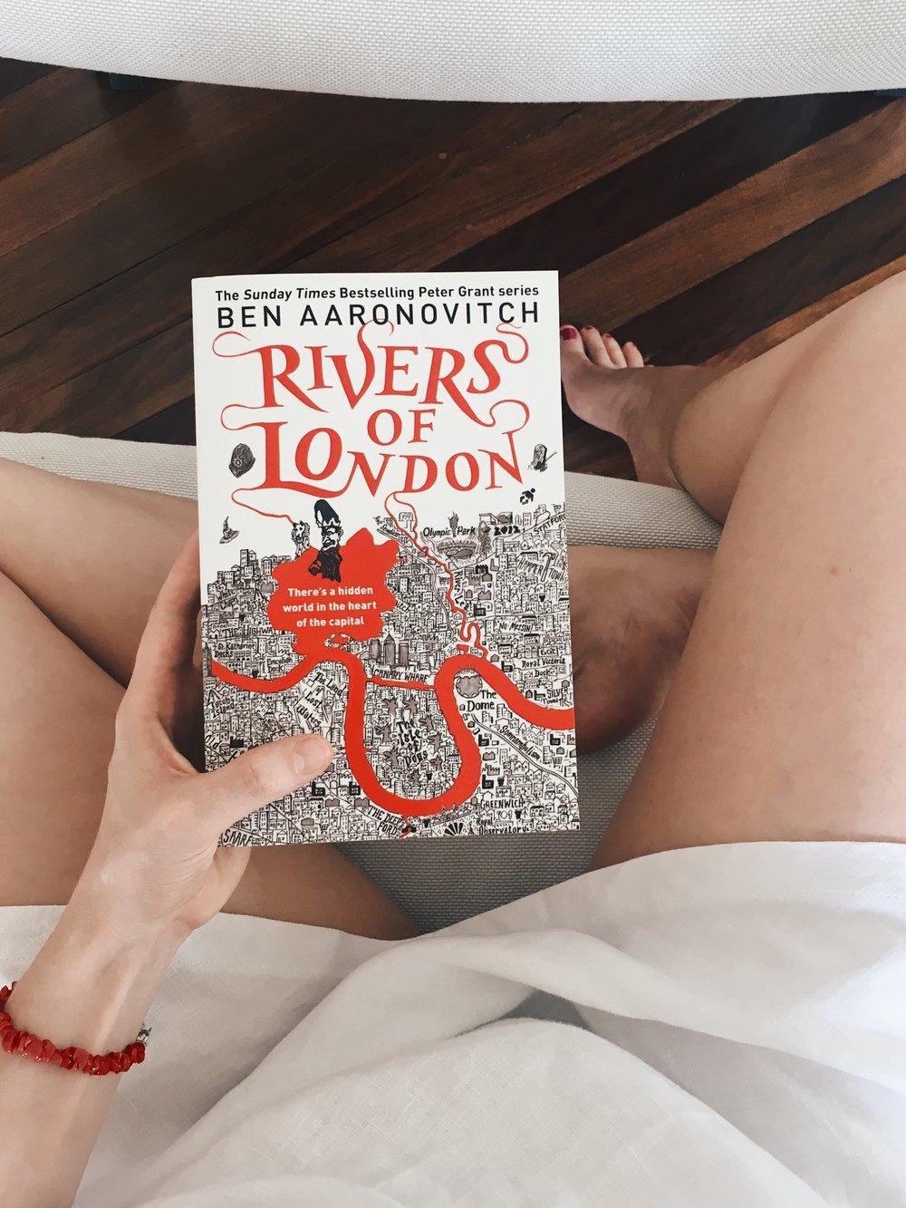 "versione in lingua originale de ""I fiumi di Londra"""