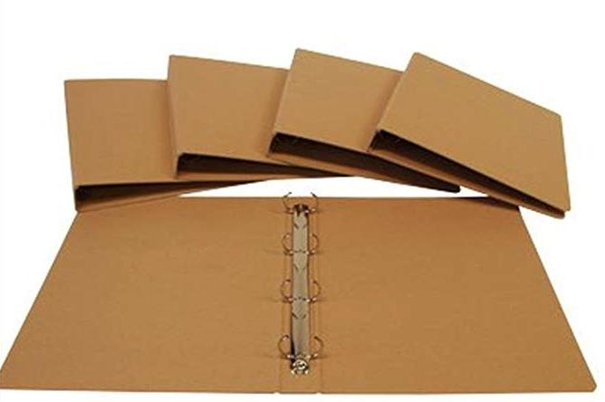 QUADERNI AD ANELLI - Questi quaderni sono fatti in cartone riciclato,