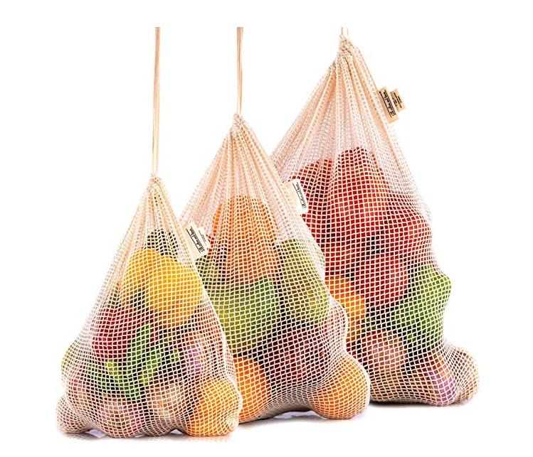 Zero waste grocery Mesh Bags